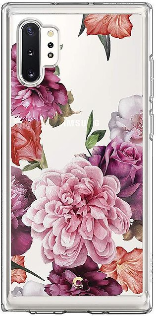 Galaxy Note 10 Plus Case – Rose Floral – Ciel Collection by CYRILL – 627CS27357