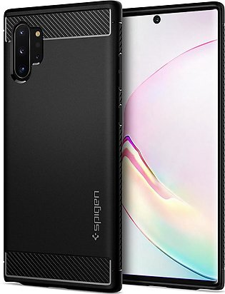Galaxy Note 10 Plus Case Rugged Armor – Matte Black – 627CS27331
