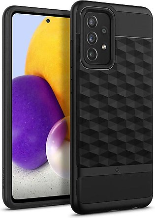 Galaxy A72 Parallax Rugged Slim Case by Caseology - Matte Black ACS02776