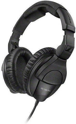 Sennheiser Closed-back Studio and Live Monitoring Headphones – HD 280 Pro Black