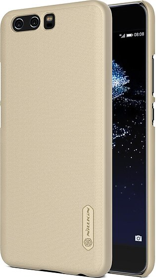 Huawei P10 Plus Frosted Shield Hard Back Cover by Nillkin – Gold
