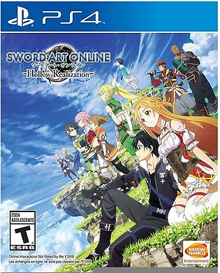 Sword Art Online: Hollow Realization For PlayStation 4 - BANDAI