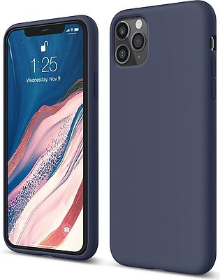 iPhone 11 Pro Liquid Silicon Case by X Fitted – Midnight Blue