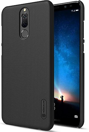 Huawei Mate 10 Lite Frosted Shield Hard Back Cover by Nillkin – Black