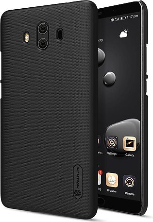 Huawei Mate 10 Frosted Shield Hard Back Cover by Nillkin – Black