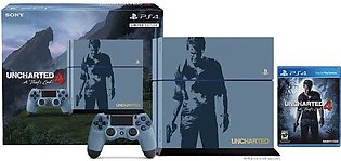 Sony PlayStation 4 Region 2 PAL 500GB(HDD) Console  Uncharted 4 Limited Edition…