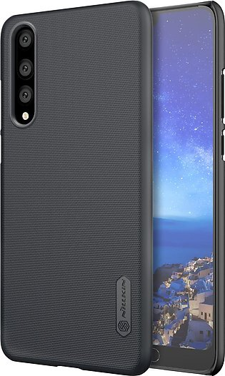 Huawei P20 Pro Frosted Shield Hard Back Cover by Nillkin - Black