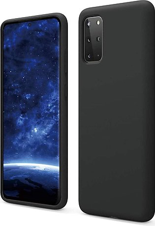 Galaxy S20 Plus Liquid Silicon Case by X Fitted - Black