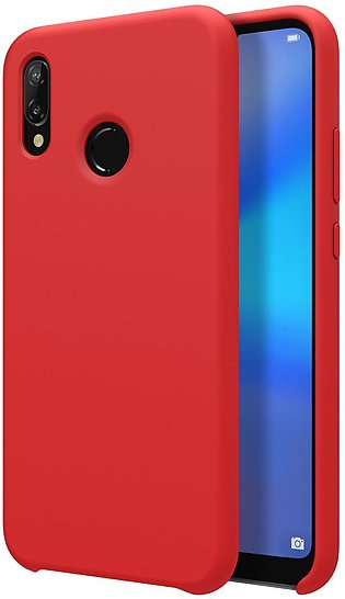 Huawei P20 Lite Flex Pure Soft Premium TPU Case by Nillkin - Red