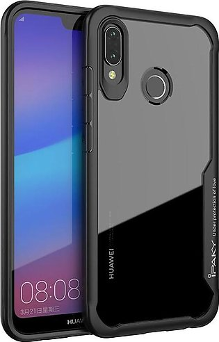 Huawei P20 Lite Survival Series Tough Anti Scratch Case by iPaky - Black