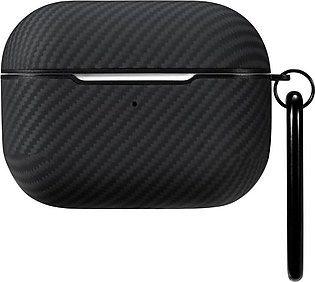 Airpal Mini Aramid Fiber Protective Case for Airpods Pro by PITAKA – Black Twill