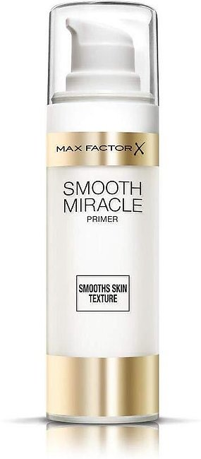 Max Factor Smooth Miracle Primer, Translucent - Sealed