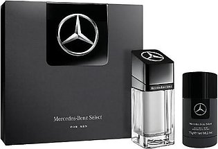 Mercedes Benz Select Gift Set (EDT 100Ml + Deo Stick 75Gm)