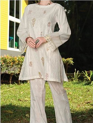 White Chicken Kari Tunic - AL-LK-726