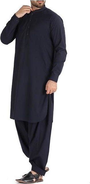 Blue Blended Kameez Shalwar - AL-KS-2486