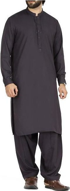 Purple Blended Kameez Shalwar - AL-KS-2470
