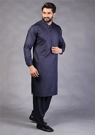 Classic Poly Viscose Outer Space Classic Fit Suit