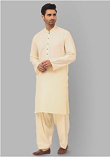 Classic Poly Viscose Whisper White Relax Fit Suit