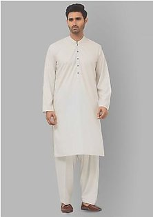 Classic Poly Viscose Whisper White Classic Fit Suit