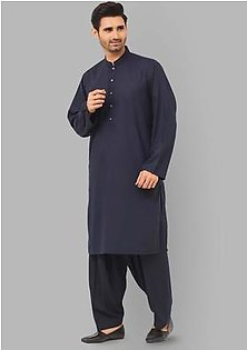 Classic Poly Viscose Navy Blazer Relax Fit Suit