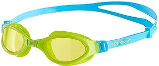SPEEDO SWIMMING GOGGLE ANTI-FOG FUTURA PLUS SWIM GOGGLE JUNIORS – GREEN/YELLOW