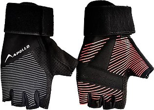 APOLLO WEIGHT LIFTING TRAINING GYM GLOVES FAWG39 – RED