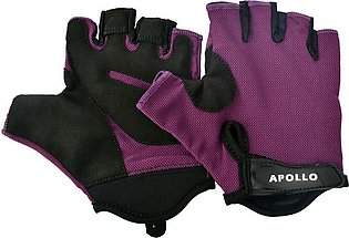 APOLLO WEIGHT LIFTING TRAINING GYM GLOVES FAWG25 – PURPLE