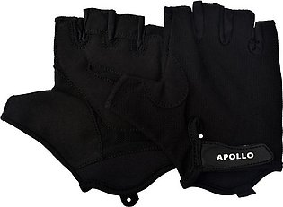 APOLLO WEIGHT LIFTING TRAINING GYM GLOVES FAWG25 – BLACK