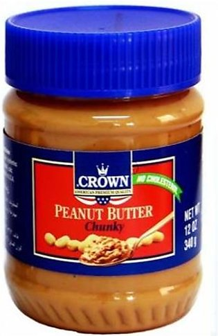 Crown Peanut Butter Chunky 340gm