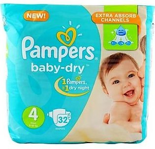 Pampers 4 maxi 32 Daipers