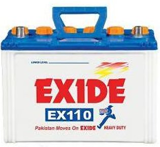 Exide Battery EX110 For Engine Capacity 1800-3000 CC