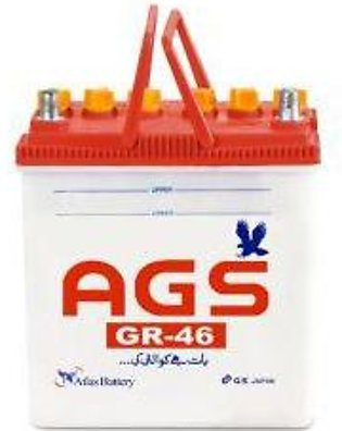 AGS Battery GR46 For Engine Capacity 600–800 CC