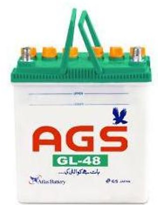 AGS Battery GL48 For Engine Capacity 800–1000 CC