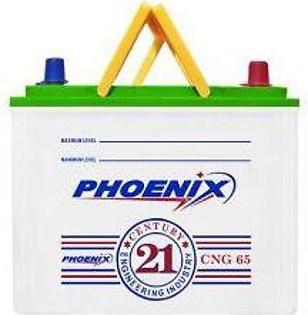 Phoenix Battery CNG65L For Engine Capacity 1300-1600 CC