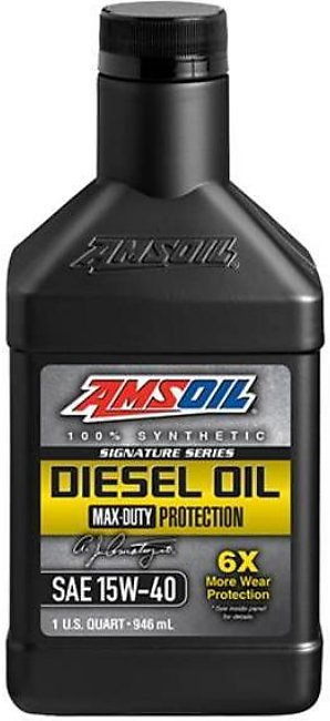 AMS OIL Signature Series Max-Duty Synthetic Diesel Oil 15W-40 - 946ml