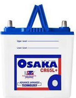 Osaka Battery CR65L+ For Engine Capacity 800-1300 CC