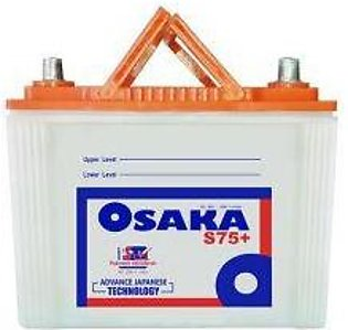 Osaka Battery S75+ For Engine Capacity 1000-2000 CC