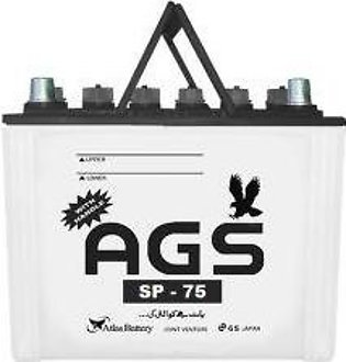 AGS Battery SP75 For Engine Capacity 1300–1800 CC