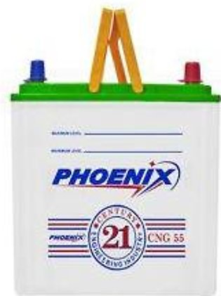 Phoenix Battery CNG55 For Engine Capacity 650-1300 CC