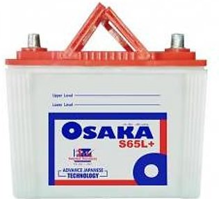 Osaka Battery S65L+ For Engine Capacity 1200-1600 CC