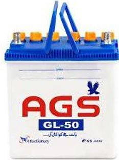 AGS Battery GL50 For Engine Capacity 1000–1600 CC