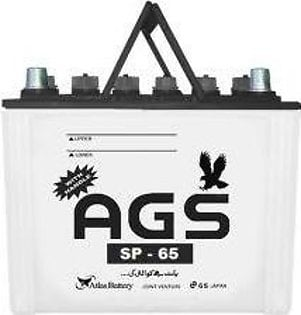 AGS Battery SP65 For Engine Capacity 1000–1600 CC