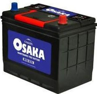 Osaka Battery MF60R For Engine Capacity 800-1300 CC