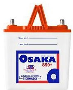 Osaka Battery S50+ For Engine Capacity 800-1000 CC