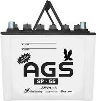 AGS Battery SP55 For Engine Capacity 1000–1300 CC