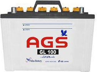 AGS Battery GL100 For Engine Capacity 2000-3000 CC