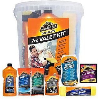 Armor All 7 Pcs Car Cleaning Kit (Bucket)