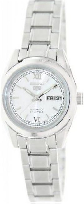 Seiko 5 #SYMK23K1 Women's Silver Dial Self Winding Automatic Watch