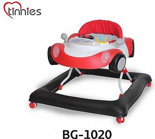 Tinnies Baby Walker Red Car