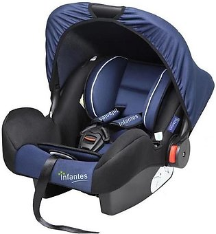 Infantes Baby Carry Cot Navy Blue & Black